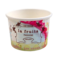 CUP LA FRUITA ICE CREAM 4OZ