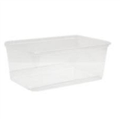 CONTAINER RECTANGLE GENFAC G650 FREEZER GRADE 650ML 175 x 118 x 49 mm