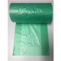 ROLL HDPE PRODUCE GUSSET GREEN