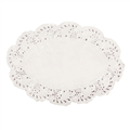DOYLEY LACE WHITE OVAL NO 1