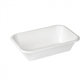 CONTAINER BAGASSE RECTANGLE 32OZ 950ML