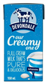 DEVONDALE MILK FULL CREAM UHT 150ML