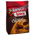 ARNOTTS BISCUIT BITES CARAMEL CROWN 170GM