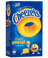 CHEEZELS CHEESE SNACK BOX125GM