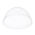 LID PET DOME CLEAR WITH HOLE 12OZ