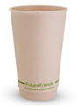 CUP DOUBLE WALL BAMBOO 16OZ