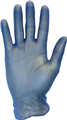 GLOVE VINYL BLUE LIGHTLY POWDERED SMALL